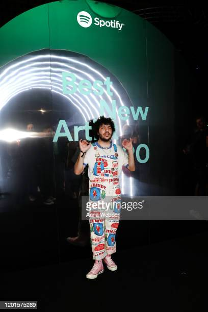 Benny Blanco attends Spotify Hosts Best New Artist Party at The Lot Studios on January 23 2020 in Los Angeles California