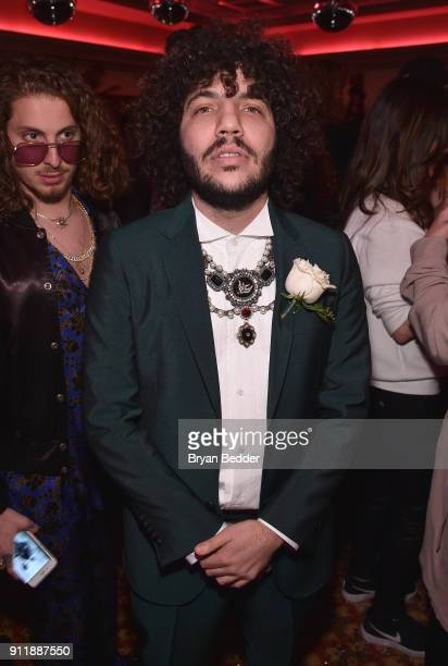 Benny Blanco attends the 60th Annual Grammy Awards after party hosted by Benny Blanco and Diplo with SVEDKA Vodka and Interscope Records on January...