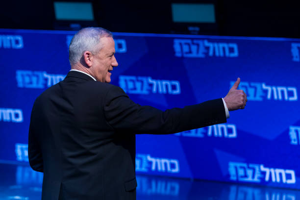ISR: Gantz Holds Final Campaign Rally Before Israeli Election