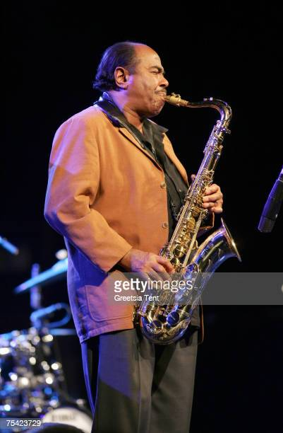 Benny Golson in concert during the North Sea Jazz Festival at Ahoy' in Rotterdam, The Netherlands July 14, 2007.