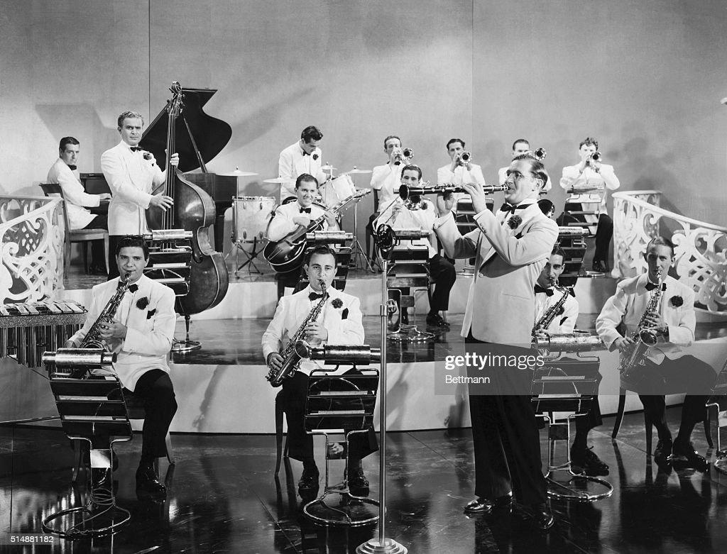 Benny Goodman And His Orchestra : Nachrichtenfoto