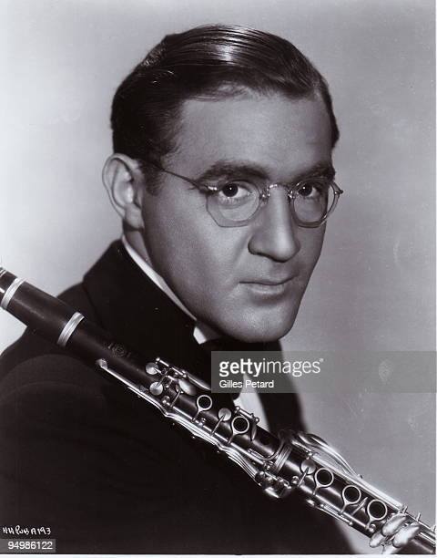 Benny Goodman poses for a studio portrait in 1936