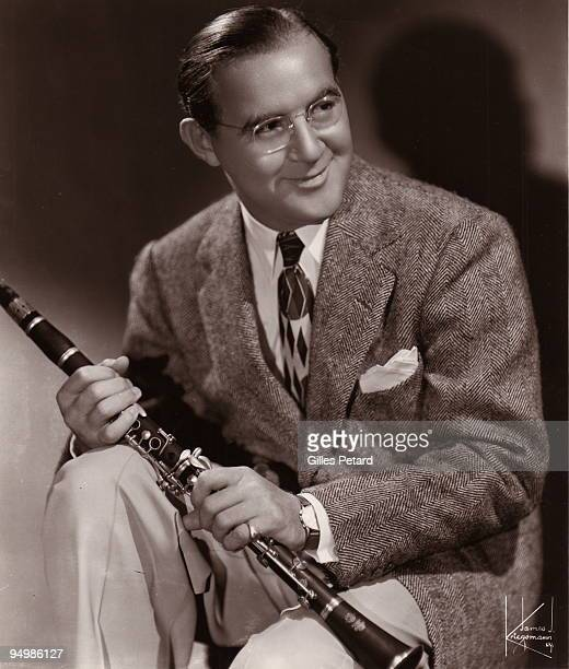 Benny Goodman poses for a studio portrait in 1939