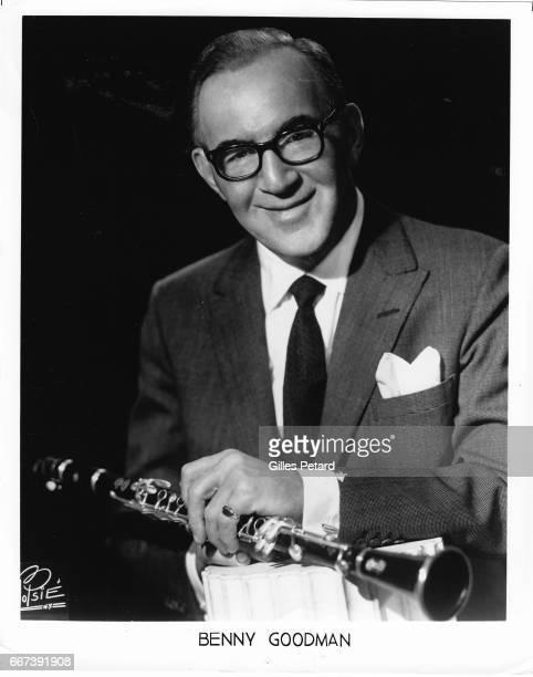 Benny Goodman studio portrait United States 1955