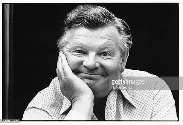 Benny Hill the English comedian famed for his slapstick television show