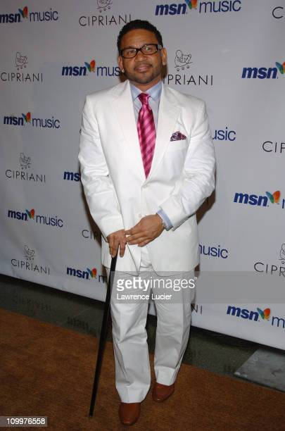 Benny Medina during Mariah Carey's Album Release Party for The Emancipation of Mimi at Ciprianis 5th Avenue in New York City, New York, United States.