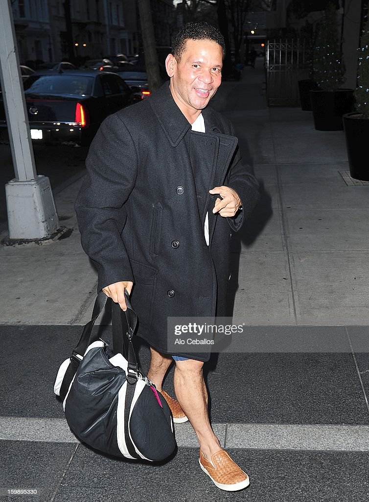 Benny Medina is seen on January 22, 2013 in New York City.