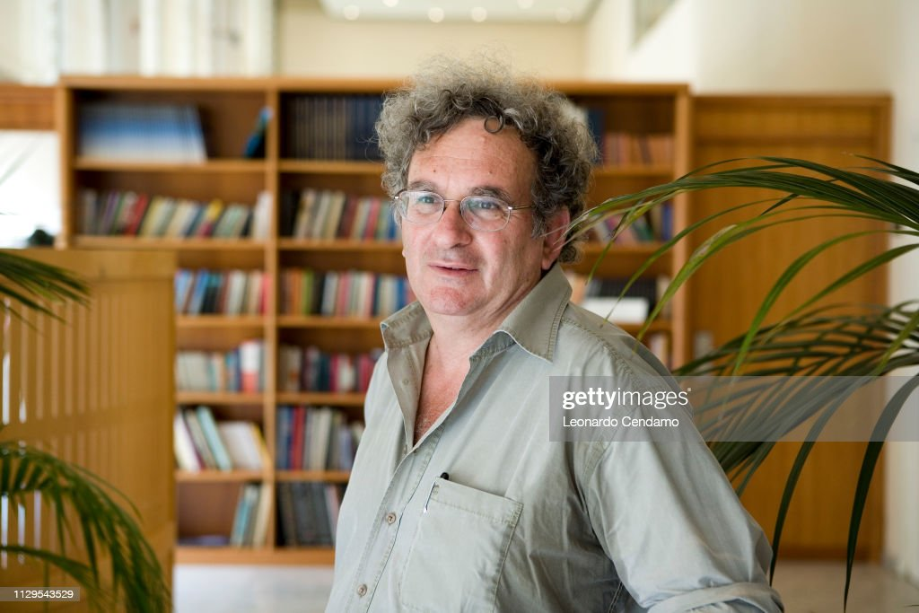 Benny Morris Israeli Historian And Writer : News Photo