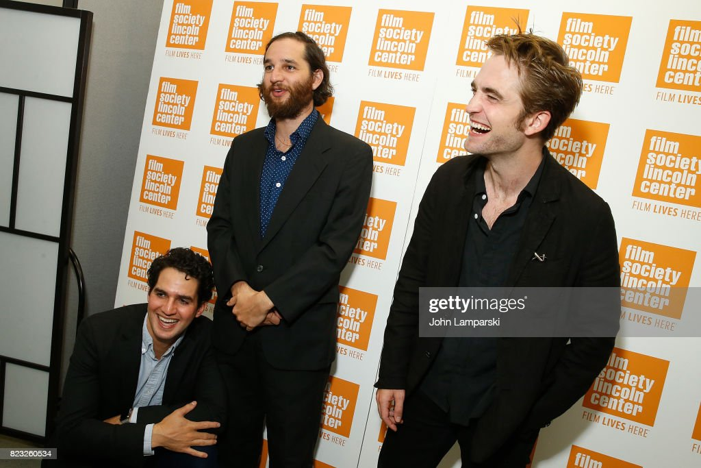 Benny Safdie, Josh Safdie and Robert Pattison attend Film Society of Lincoln Center presents 'Good Time' at Walter Reade Theater on July 26, 2017 in New York City.