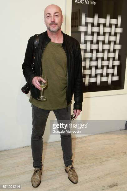 Benny Tache attends the Swiss Wine Valais Loves New York hosted by Gregory de la Haba Billy The Artist Anthony HadenGuest and Raul Zamudio at Castle...