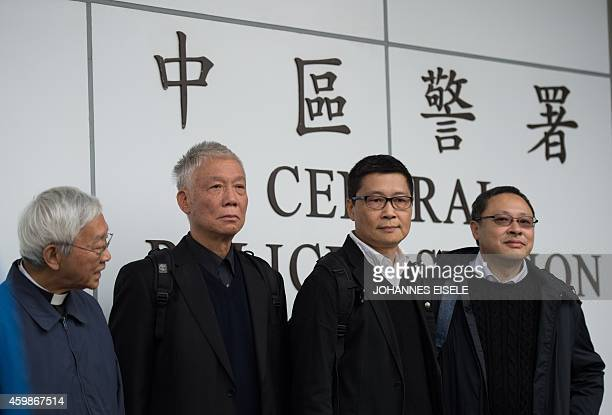 Benny Tai , an original founder of the pro-democracy Occupy movement, Chinese Cardinal of the Catholic Church and former bishop of Hong Kong, Joseph...