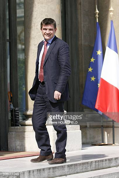 Benoist Apparu Minister of State in charge of Housing and Urban Affairs in Paris France on June 24th 2009