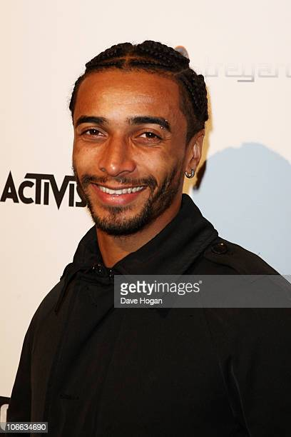 Benoit Assou Ekotto attends the launch party for new video game Call Of Duty Black Ops held at Battersea Power Station on November 8 2010 in London...