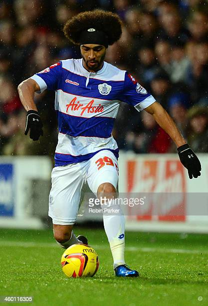 Benoit AssouEkotto of Queens Park Rangers in action during the Sky Bet Championship match between Queens Park Rangers and Doncaster Rovers at Loftus...