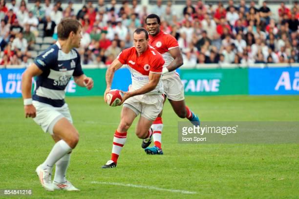 Benoit BABY Biarritz / Bristol match de preparation 2011/2012