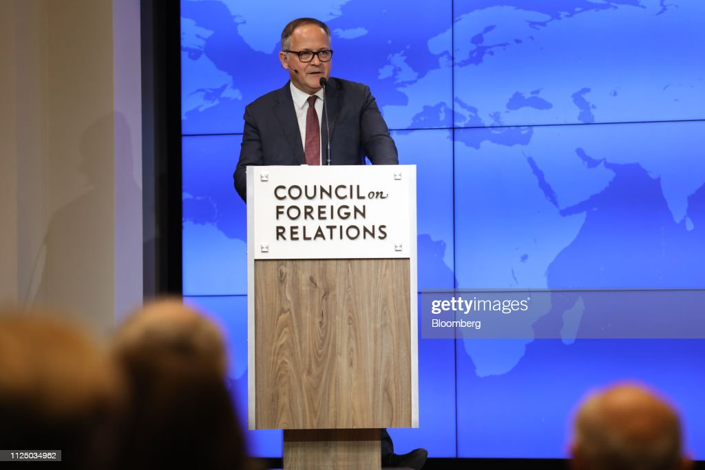 NY: European Central Bank Member Benoit Coeure Speaks At Council On Foreign Relations
