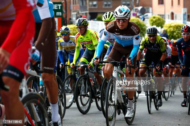 Benoit Cosnefroy of France and Team AG2R La Mondiale / during the 106th Liege - Bastogne - Liege 2020, Men Elite a 257km race from Liege to Liege /...