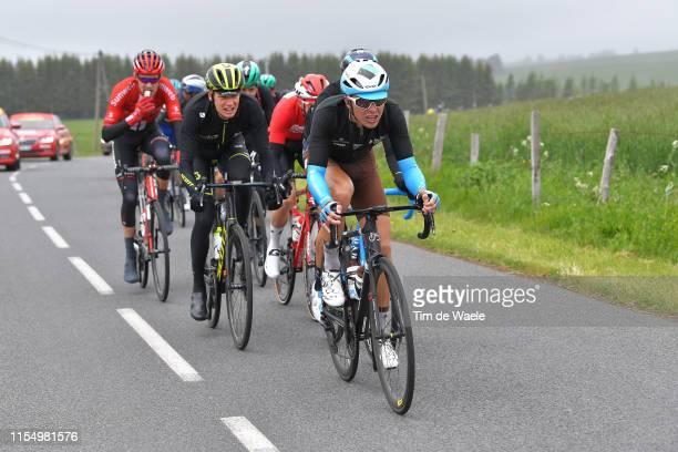 Benoit Cosnefroy of France and Team AG2R La Mondiale / Jack Haig of Australia and Team Mitchelton-Scott / during the 71st Criterium du Dauphine 2019,...