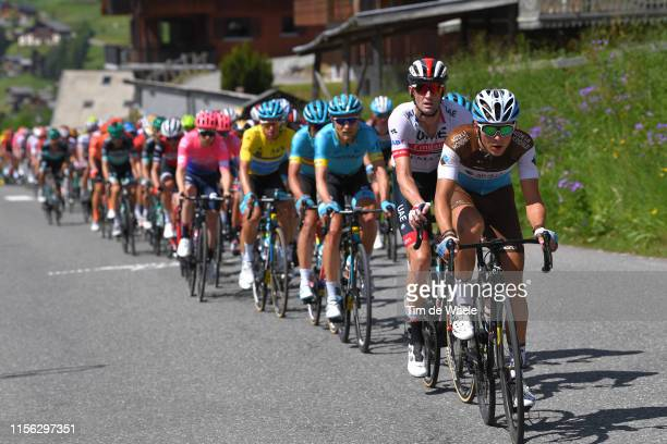 Benoit Cosnefroy of France and Team AG2R La Mondiale / Peloton / during the 71st Criterium du Dauphine 2019, Stage 8 a 113,5km stage from Cluses to...