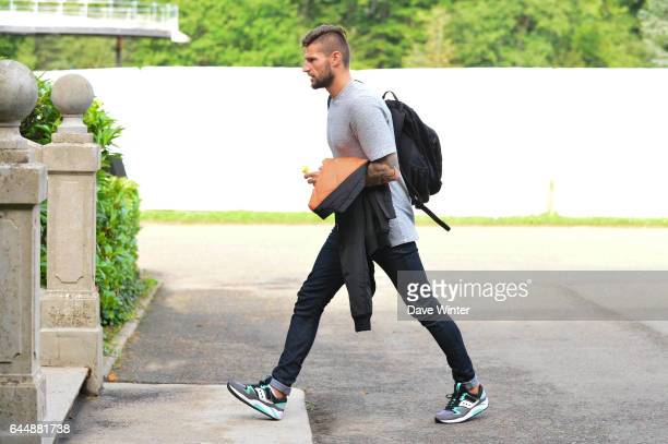 Benoit COSTIL Equipe de France de Football Arrivee a Clairefontaine Photo Dave Winter / Icon Sport