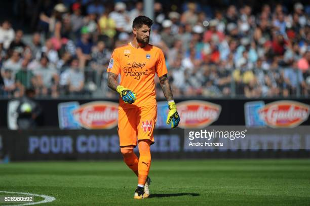 Benoit Costil of Bordeaux during the Ligue 1 match between Angers SCO and FC Girondins de Bordeaux at Stade Raymond Kopa on August 6 2017 in Angers