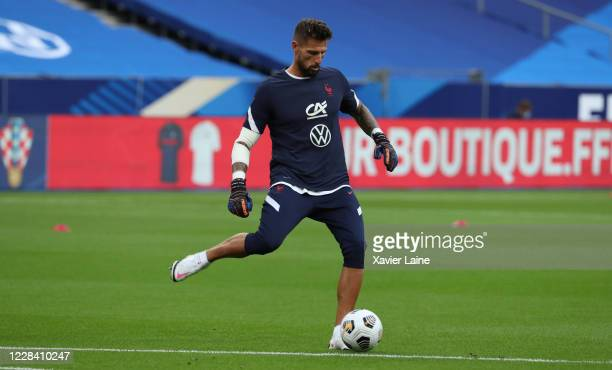 Benoit Costil of France in action during the UEFA Nations League group stage match between France and Croatia at Stade de France on September 8 2020...