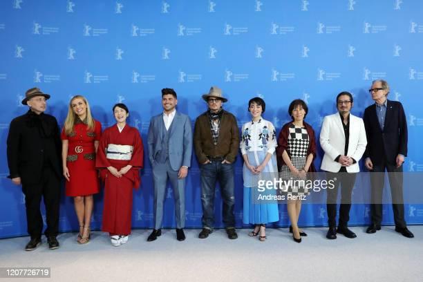 Benoit Delhomme Katherine Jenkins Akiko Iwase director Andrew Levitas Johnny Depp Minami Aileen Mioko Smith Hiroyuki Sanada and Bill Nighy the...