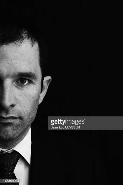 Benoit Hamon Potential Candidate For General Secretary Of The French Socialist Party In Paris France On June 12 2008 Portrait of Benoit Hamon