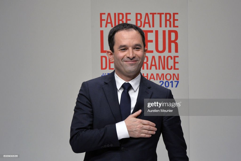 France Socialit Party  Organizes A National Convention To Name Benoit Hamon Candidate For France Presidential Elections