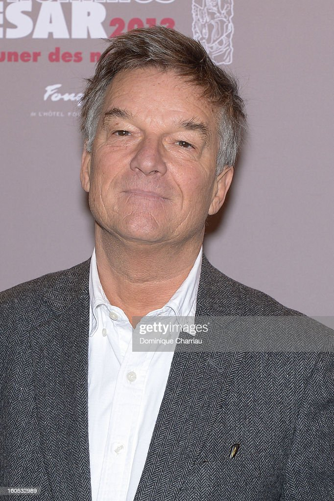 Benoit Jacquot attends the Cesar 2013 Nominee Lunch at Le Fouquet's on February 2, 2013 in Paris, France.