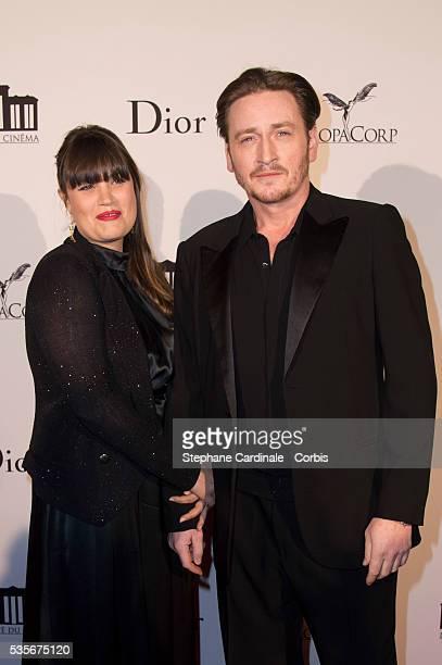 Benoit Magimel and his Wife Nikita Lespinasse attend La Cite Du Cinema Launch, in Saint-Denis.