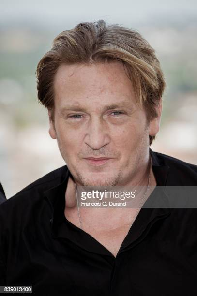 Benoit Magimel attends the 10th Angouleme FrenchSpeaking Film Festival on August 25 2017 in Angouleme France