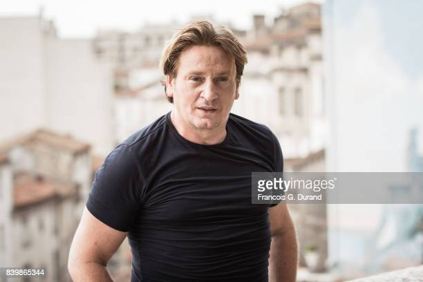 Benoit Magimel attends the 10th Angouleme FrenchSpeaking Film Festival on August 27 2017 in Angouleme France