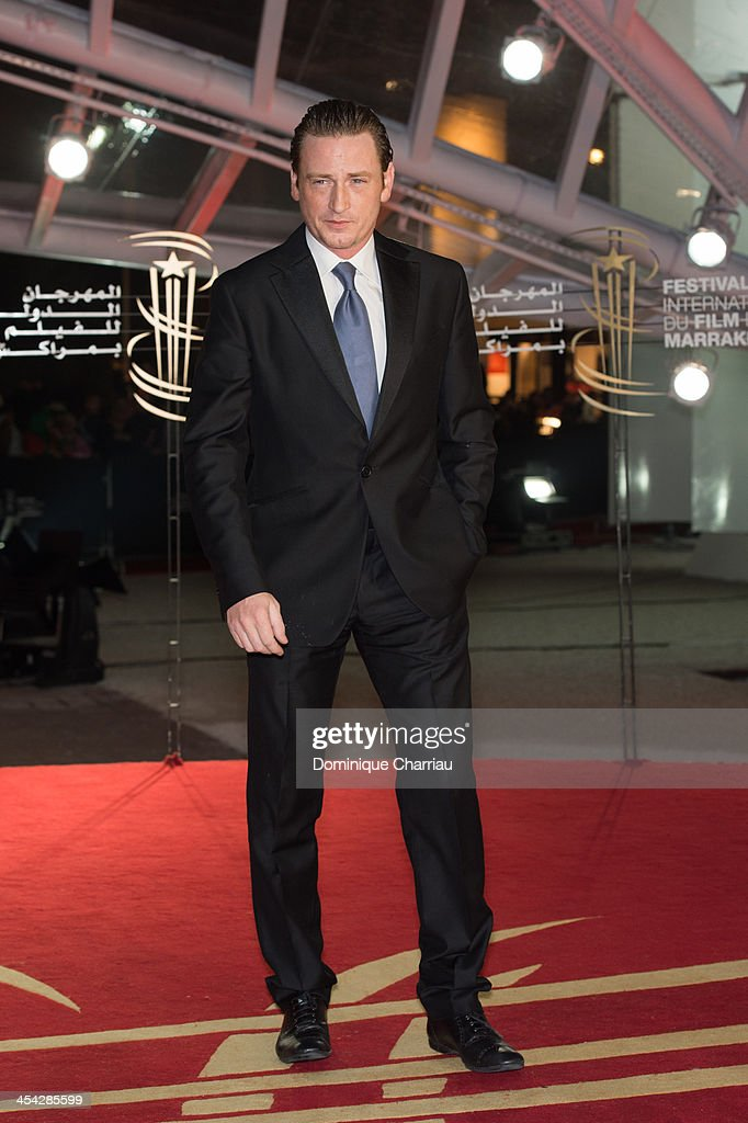 Benoit Magimel attends the award Ceremony 2013' At 13th Marrakech International Film Festival on December 7, 2013 in Marrakech, Morocco.
