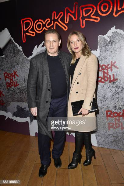 Benoit Magimel attends the 'Rock'N Roll' Premiere at Cinema Pathe Beaugrenelle on February 13 2017 in Paris France