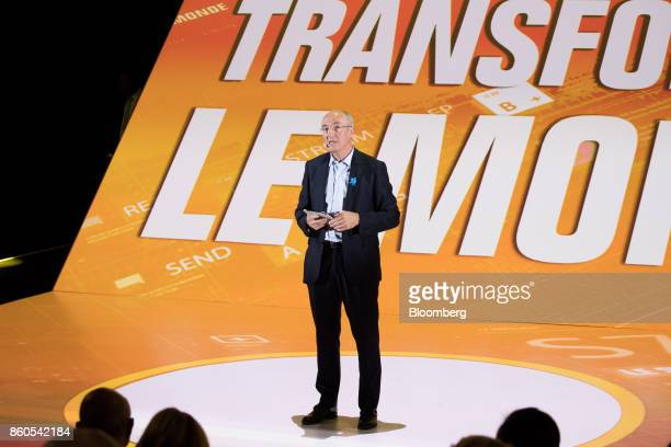 Benoit Potier chief executive officer of Air Liquide SA speaks during the BPI France forum in Paris France on Thursday Oct 12 2017 Statebacked...
