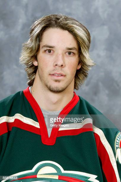 Benoit Pouliot of the Minnesota Wild poses for a portrait at Xcel Energy Center on September 122005 in Saint PaulMinnesota