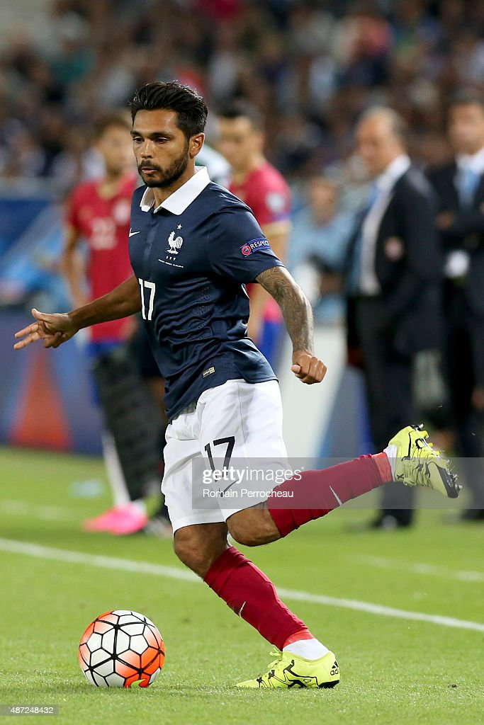 Benoit Tremoulinas of France during International Friendly between France and Serbia on September 7, 2015 in Bordeaux, France.