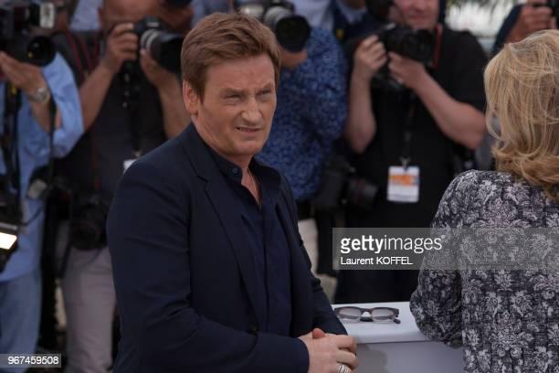 Benoît Magimel lors du photocall du film ?La tête haute ' pendant le 68eme Festival du Film Annuel au Palais des Festivals le 13 mai 2015, Cannes,...