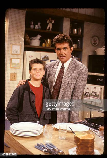 """Ben's First Kiss"""" - Airdate: December 7, 1988. ALAN THICKE WITH SON ROBIN THICKE"""