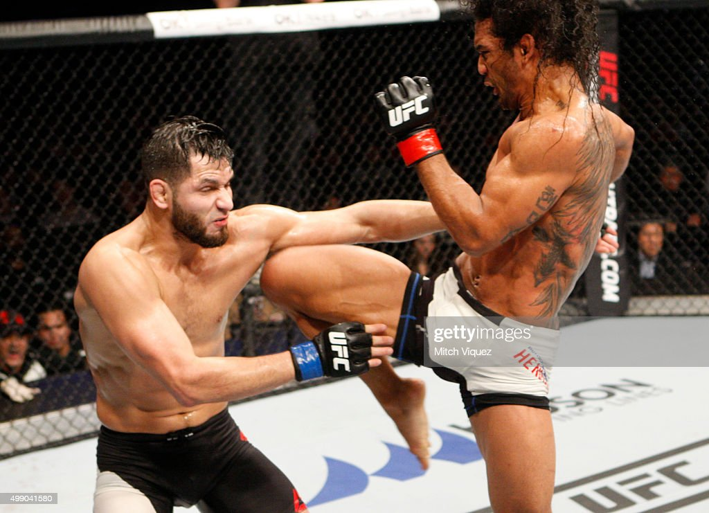 UFC Fight Night Korea: Jorge Masvidal v Benson Henderson : News Photo