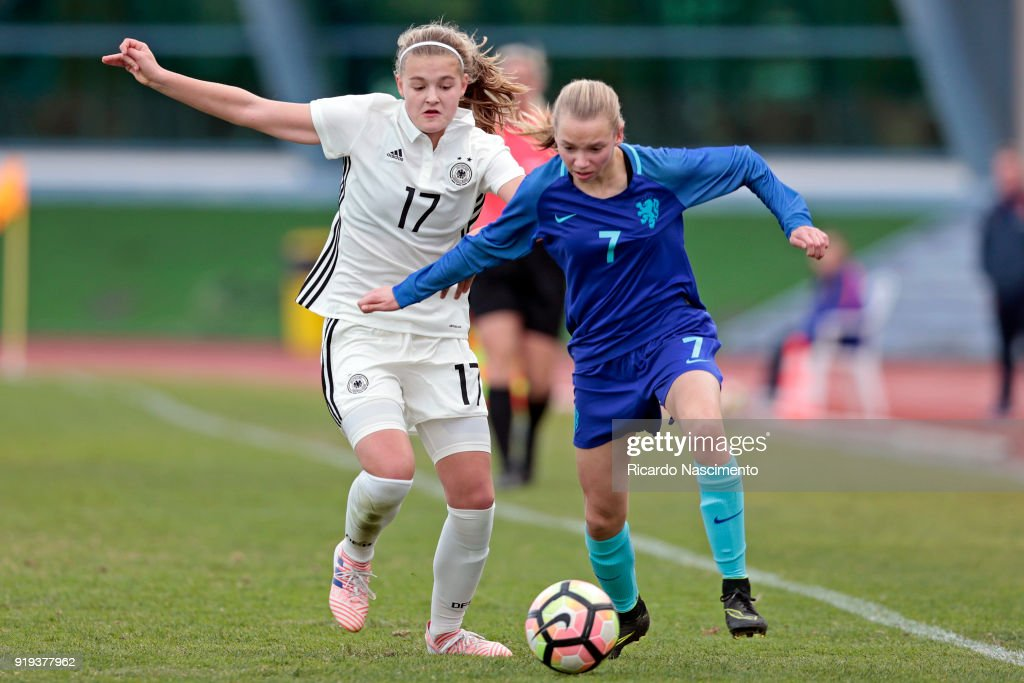U16 Girl's Germany v U16 Girl's Netherlands - UEFA Development Tournament