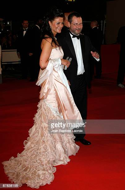 Bente Froge and Lars Von Trier attend the 'Antichrist' premiere at the Grand Theatre Lumiere during the 62nd Annual Cannes Film Festival on May 18...