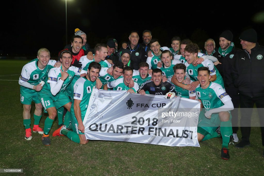 FFA Cup Rd of 16 - Broadmeadow Magic v Bentleigh Greens