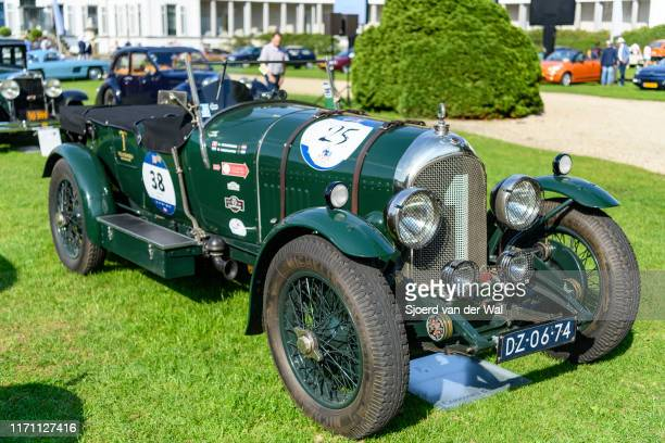 Bentley 30 Litre Chalmer Hoyer coachwork 1923 vintage classic car on display at the 2019 Concours d'Elegance at palace Soestdijk on August 25 2019 in...
