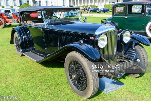 Bentley 4 Liter Vandenplas coachwork on display at the 2019 Concours d'Elegance at palace Soestdijk on August 25 2019 in Baarn Netherlands This is...