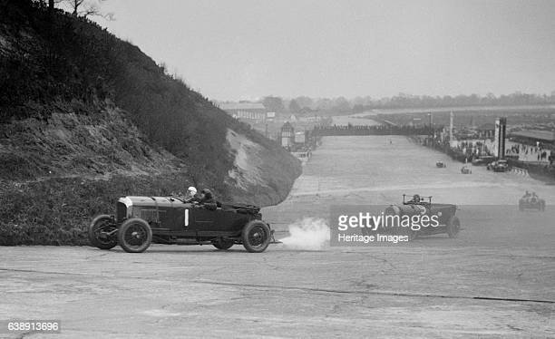 1 Driver Birkin HRS The Hon Dorothy Paget is the passenger Right AustroDaimler Stripped 4seater 2992 cc Entry No 9 Driver Fronteras E Brooklands...
