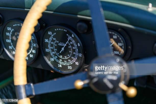 Bentley 45 Litre Vandenplas coachwork dashboard on display at the 2019 Concours d'Elegance at palace Soestdijk on August 25 2019 in Baarn Netherlands...