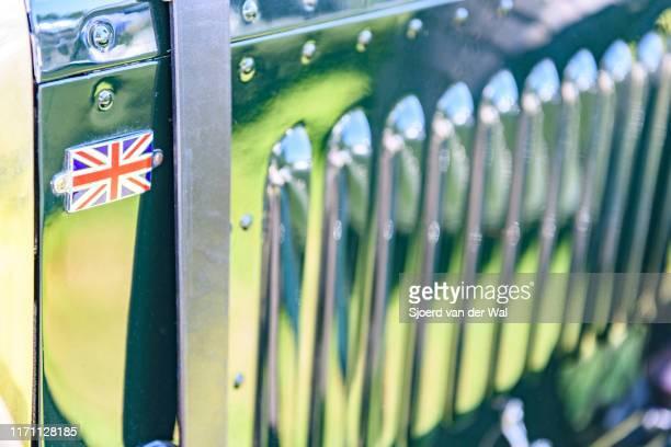 Bentley 45 Litre Vandenplas coachwork detail on display at the 2019 Concours d'Elegance at palace Soestdijk on August 25 2019 in Baarn Netherlands...