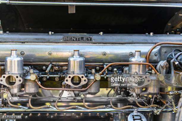 Bentley 65 Litre Vandenplas coachwork engine on display at the 2019 Concours d'Elegance at palace Soestdijk on August 25 2019 in Baarn Netherlands...